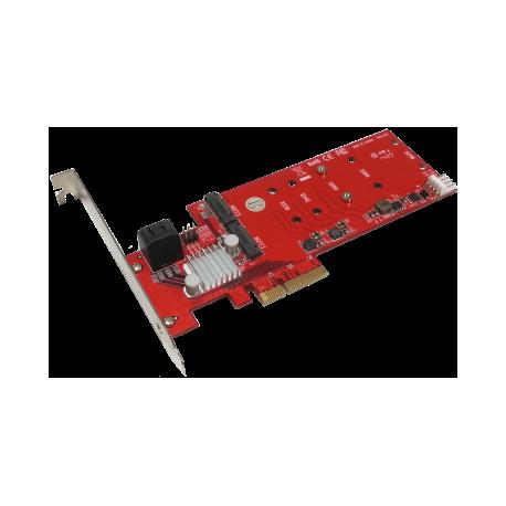 Dual Hyper HDD - M2 hybrid Controller