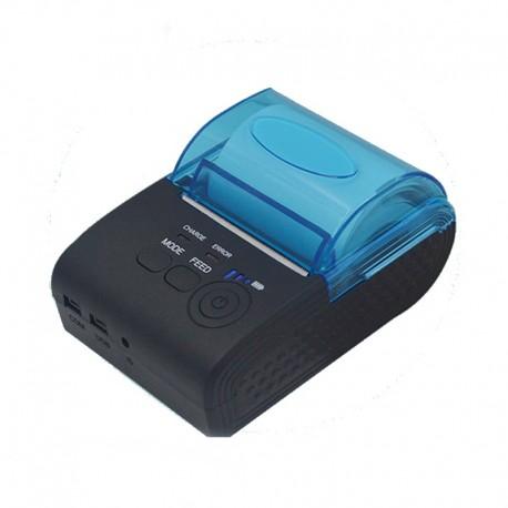 Přenosná 58mm termální Bluetooth Mini tiskárna