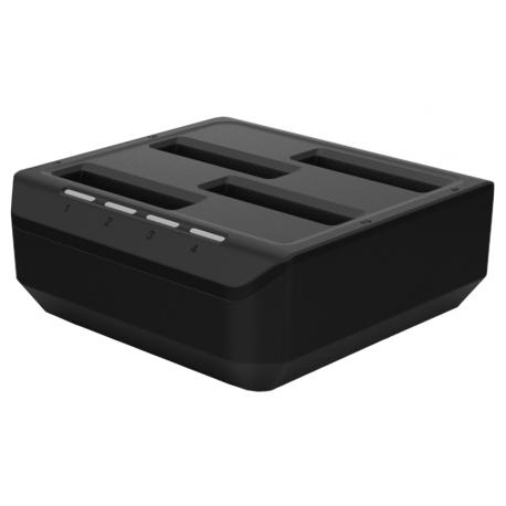 Nabíječka baterií PM85 4 sloty (včetně napájecího adaptéru AC/DC)