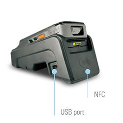 Rugged POS terminal WETR150 - NFC, LAN port