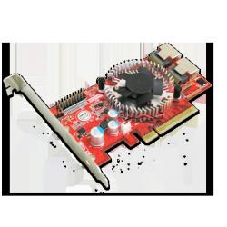 8-Port SATA/SAS PCIe controller
