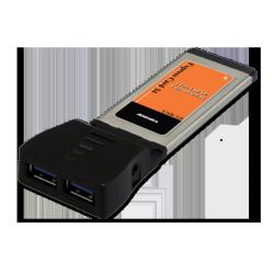 2-Port USB 3.0 ExpressCard 34