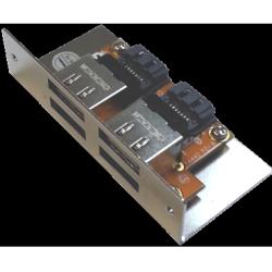 4 eSATA Port Bracket for HDD