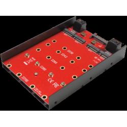 """3.5"""" QUAD M2 (NGFF) SSD drive"""