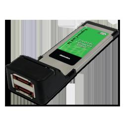 6G 2-port eSATA ExpressCard 34