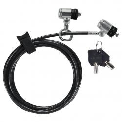 Targus DEFCON T-lock lankový zámek s dvojitou hlavou a master klíčem (25ks) ASP57MKEUX-25