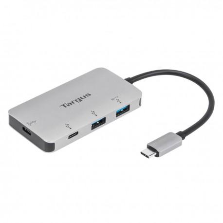 USB-C Multi-Port Hub, 2x USB-A a 2x USB-C porty, 100W PD Pass-Thru, ACH228EU