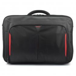 """Targus Classic+  17-18"""" Clamshell Case, taška na notebook, černá/červená, CN418EU"""