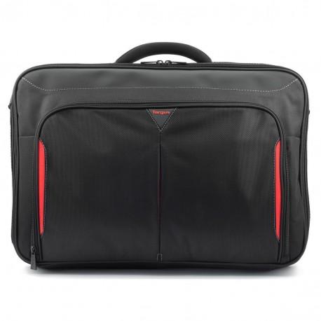 """Targus Classic+  17-18"""" Clamshell Case - taška na notebook, černá/červená, CN418EU"""