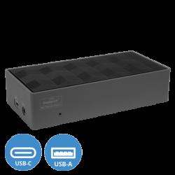 Targus USB-C universální DV4K dokovací stanice s výkonem 100W, DOCK190EUZ