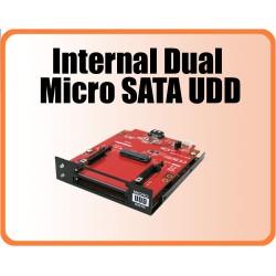 Dual Internal mSATA SSD / CFast card Reader/Writer, with 2 SATA interface
