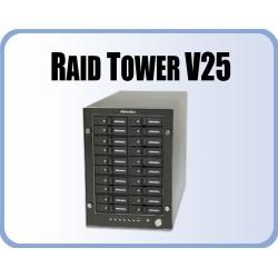 "RTV for 20 x 2.5"" HDD, RAID 10, 5 and JBOD, eSATA"
