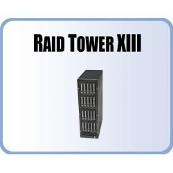 RT13, 4 Disk Array 5SA, 4 HPM-XA, 1 external Mini SAS
