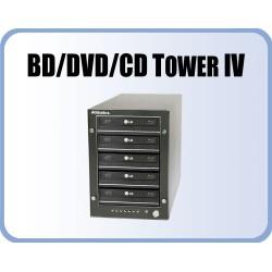 BD/DVD-RRW Tower 5 with 5 Blu-Ray burners, eSATA