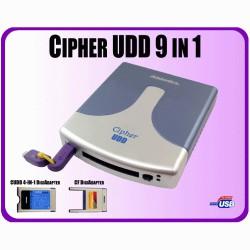 Cipher UDD 9-in-1 with 128-bit TDES encryption, eSATA