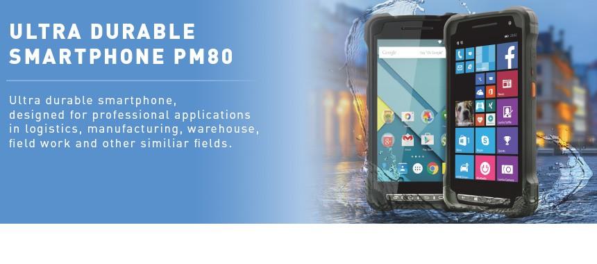 Ultra odolný smartphone PM80