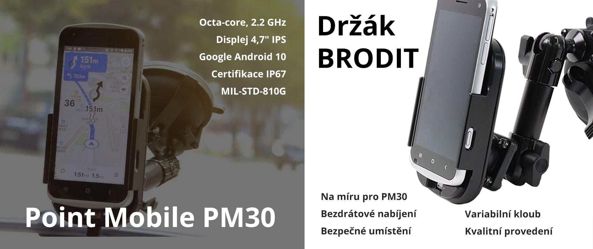 Držák BRODIT s PM30