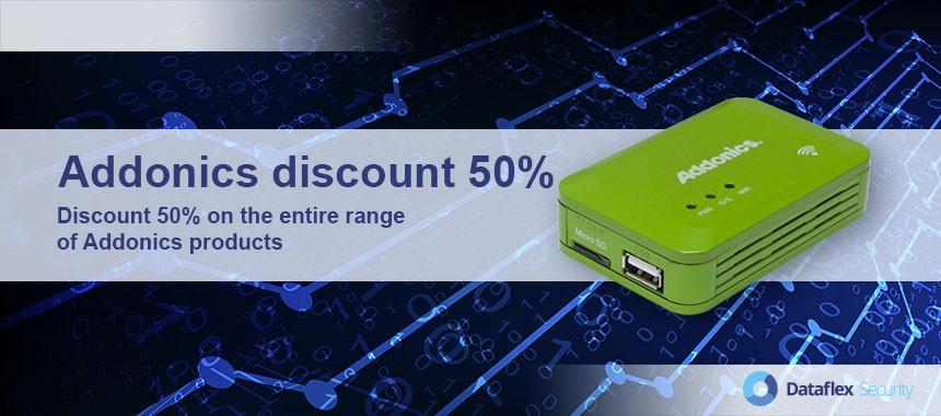 Addonics Discount 50%