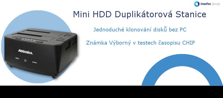 Mini HDD Duplikátorová stanice